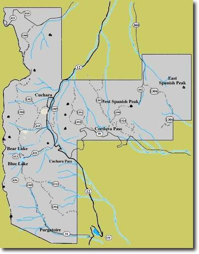Gardner Colorado Map.About Southern Colorado San Isabel National Forest
